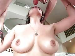 Horny Dude Attacks Awesome Breasted Babe 3